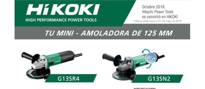 Tu mini Amoladora de 125mm